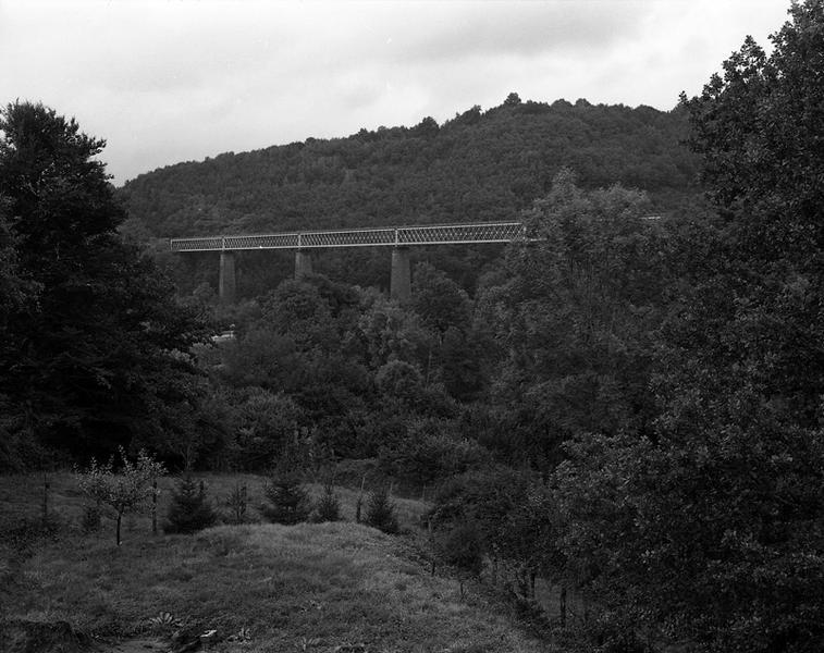 Viaduc de chemin de fer dit Viaduc de la Sumène
