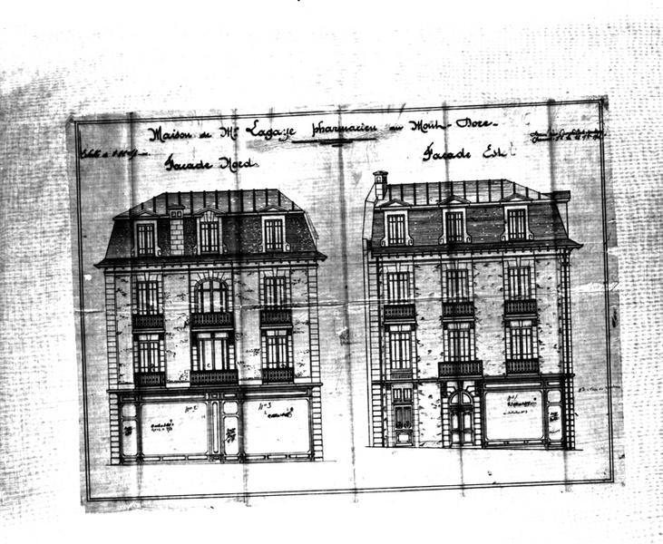 maisons, immeubles