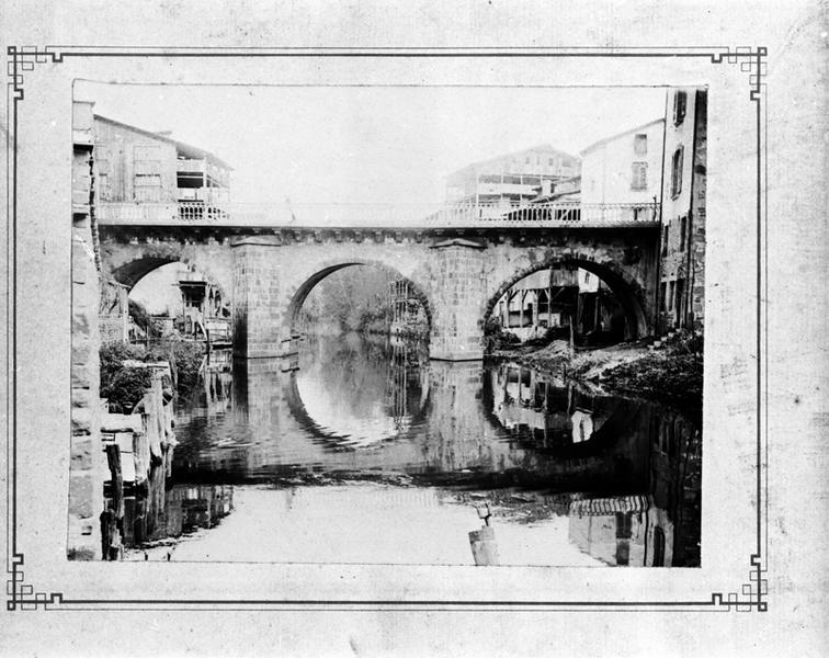 Pont dit pont de Morge ou pont des Fainéants