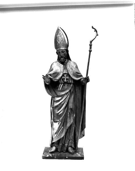 Statue (petite nature) : saint Hilaire de Poitiers