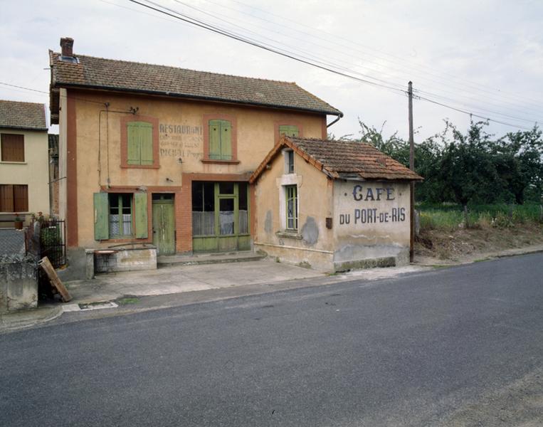 café ; restaurant dit café du Port-de-Ris