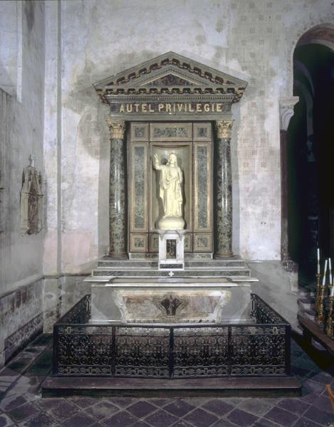 Statues : Immaculée Conception, Christ