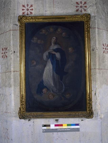 Ex-voto, tableau : Immaculée Conception