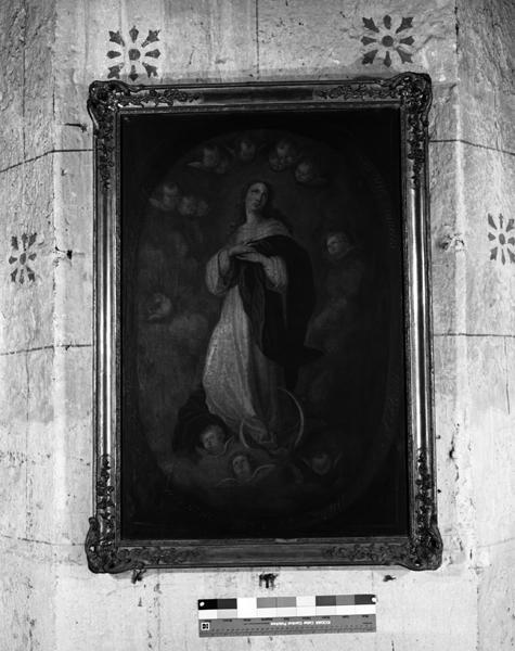ex-voto ; tableau de l'Immaculée Conception