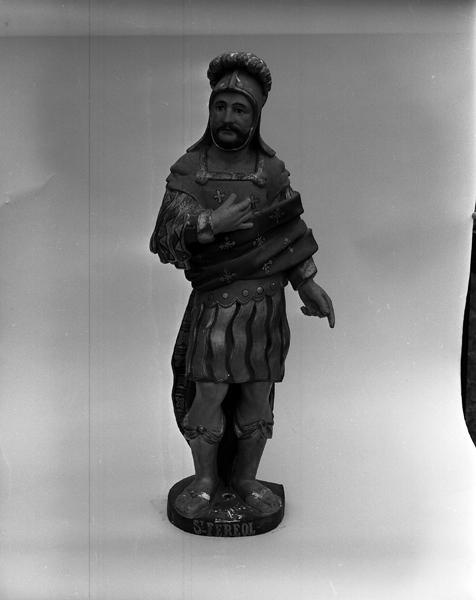 Statue (demi-nature) : saint Ferréol de Vienne