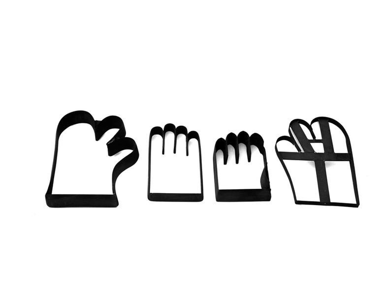 formes à découper les gants