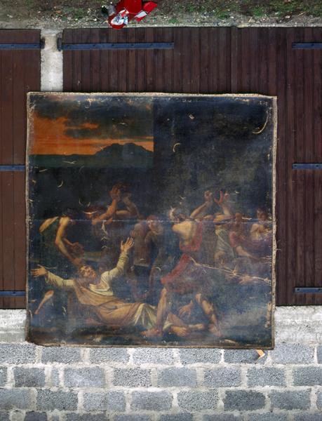 tableau : Martyre de Saint-Etienne