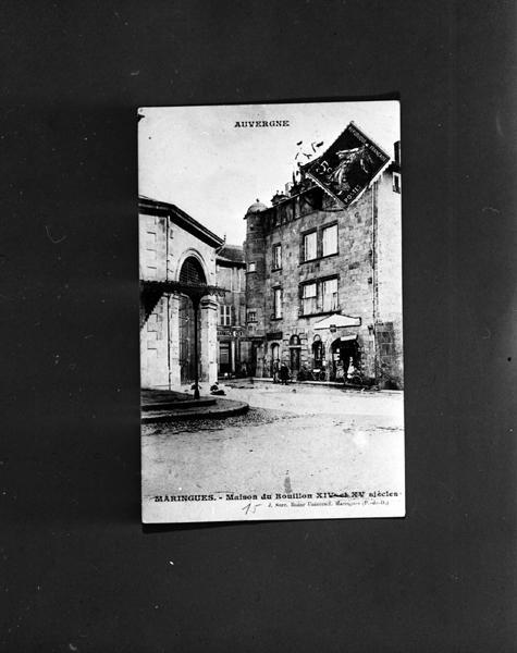 Maison dite maison des Ducs de Bouillon