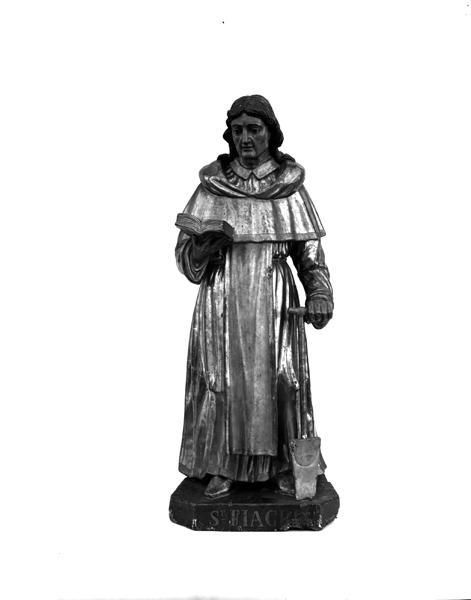 Statue (demi-nature) : saint Fiacre de Brie