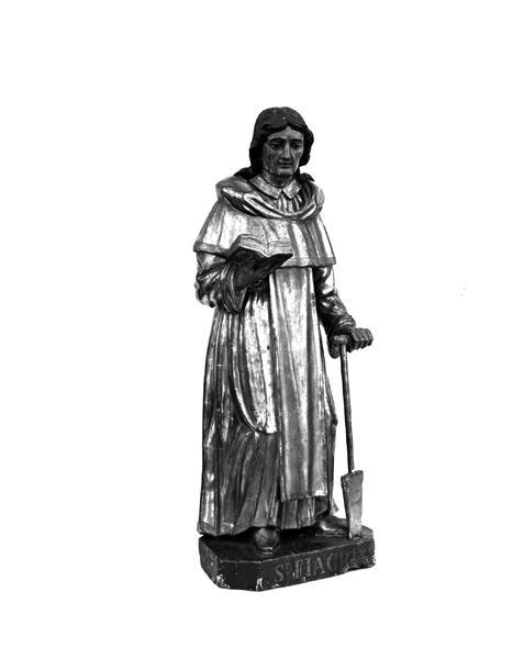 statue : saint Fiacre de Brie