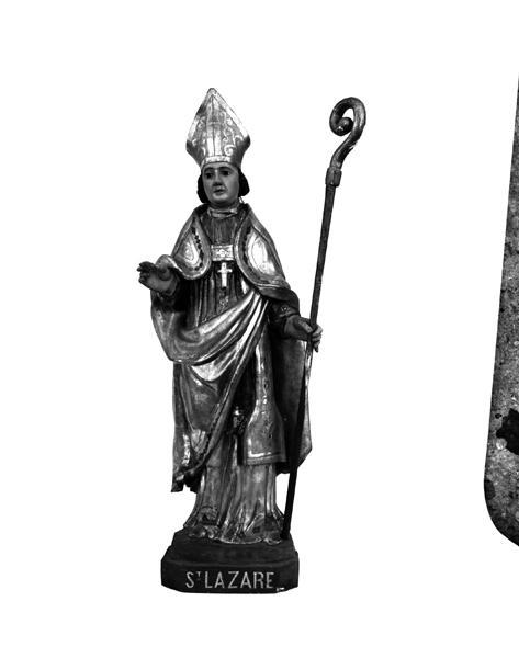 Statue (demi-nature) : saint Lazare