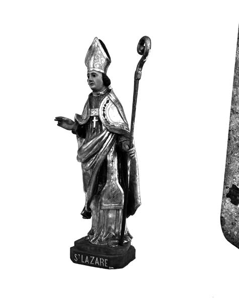 Statue : saint Lazare