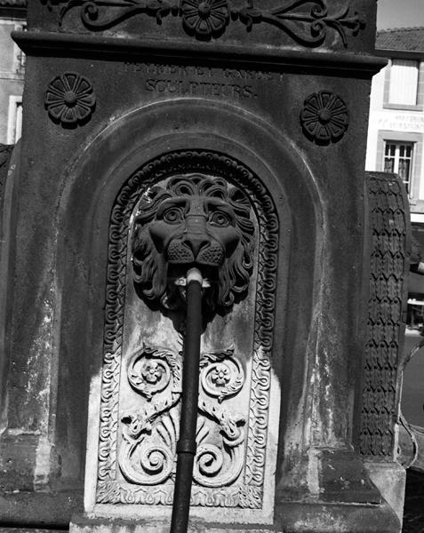 fontaine dite fontaine du Chery