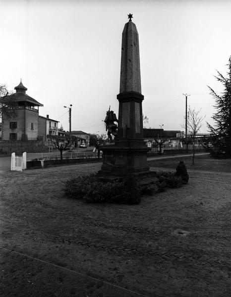 monuments aux morts de la guerre de 1914-1918 et de la guerre de 1939-1945