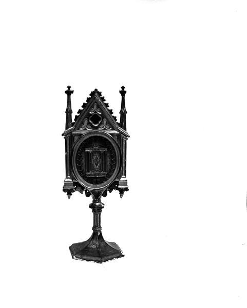 Reliquaire-monstrance de style néo-gothique
