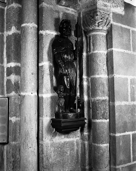 Ensemble de deux statues : saint Pierre et saint Roch
