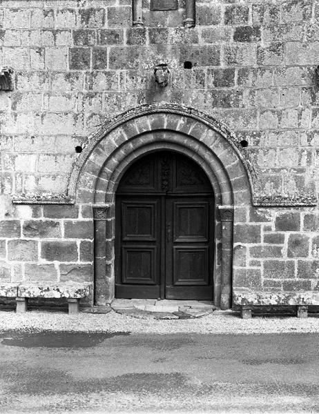 2 vantaux du portail ouest