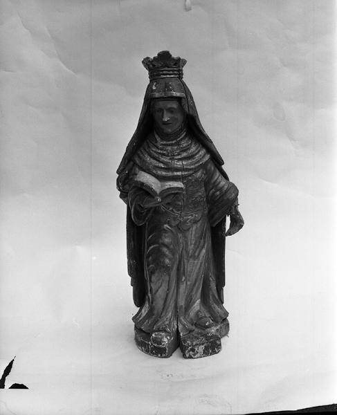 Statue (demi-nature) : sainte Radegonde de Poitiers