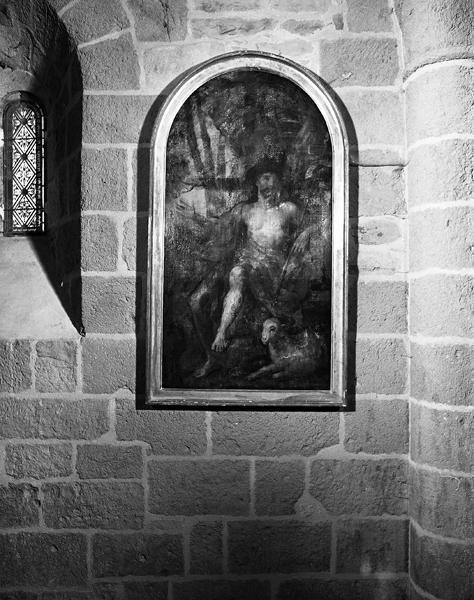 Tableau : saint Jean-Baptiste au désert