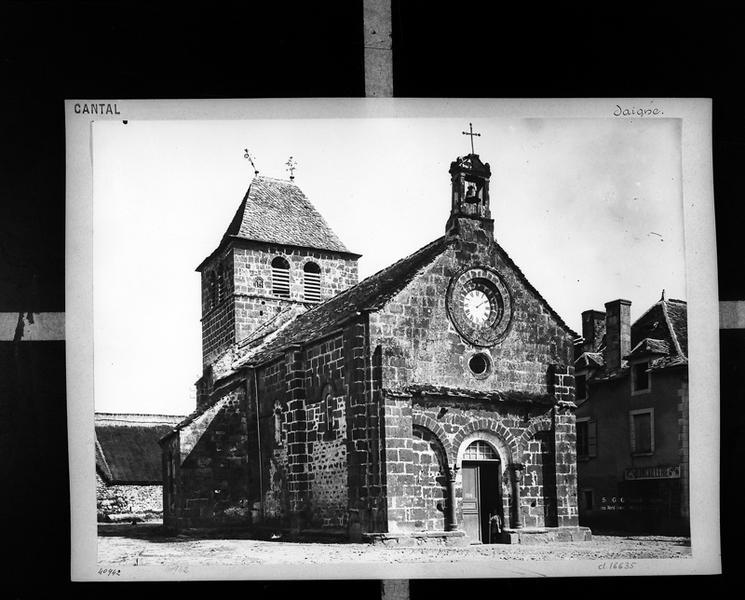 Église paroissiale Saint-André, Sainte-Croix