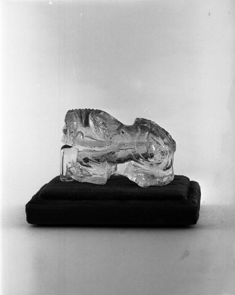 Statue : Lion (numéro d'inventaire : Bredons 357)
