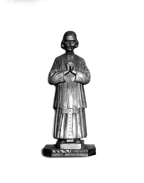 Ensemble de deux statues