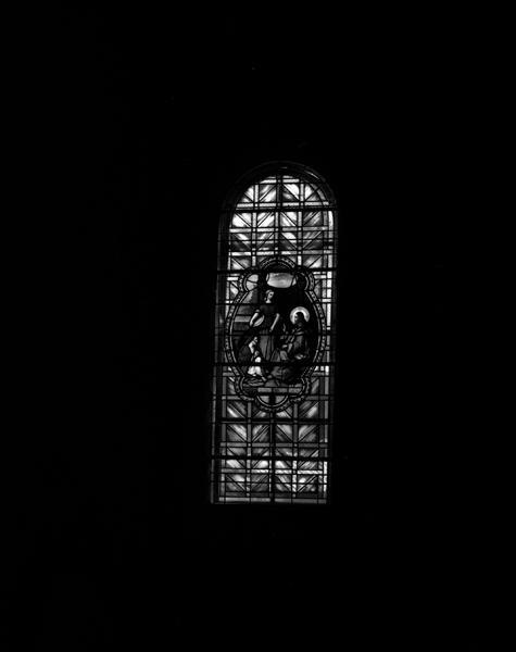 verrières (2) : baie 1, Jésus chez Marthe et Marie