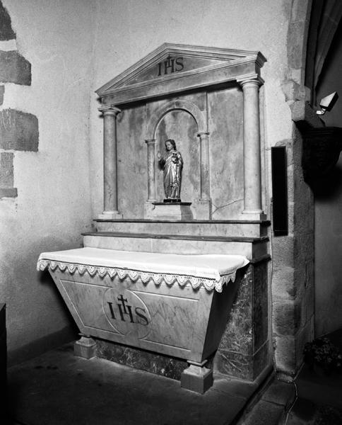 autel 1 ; retable 1
