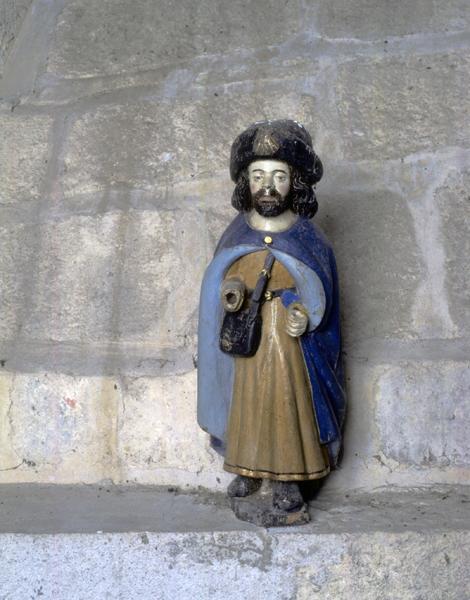 statue : saint Jacques