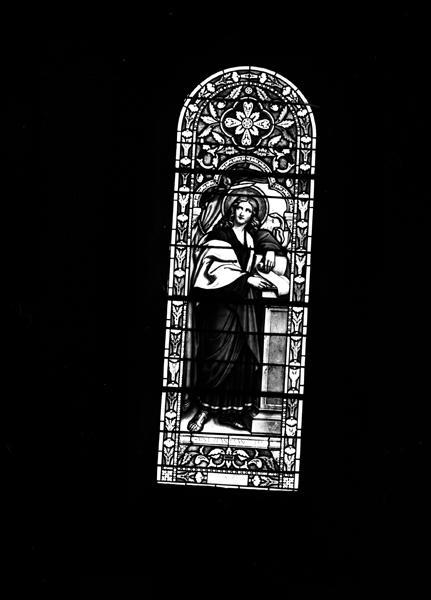 Verrières (14) de la travée droite du choeur, de la nef et des chapelles du narthex : baies 5, 6, 11, 12, 13, 14, 15, 16, 17, 18, 19, 20, 21, 22