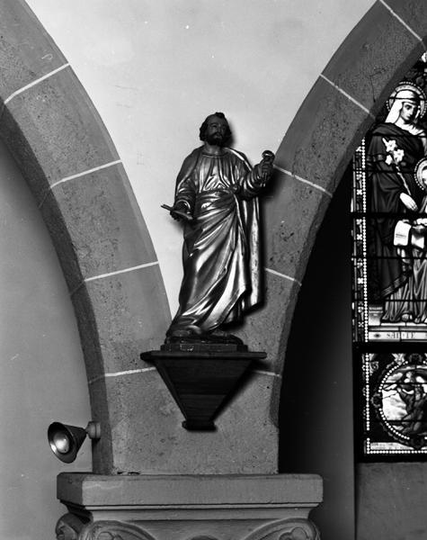 Statue (demi-nature) de saint Pierre