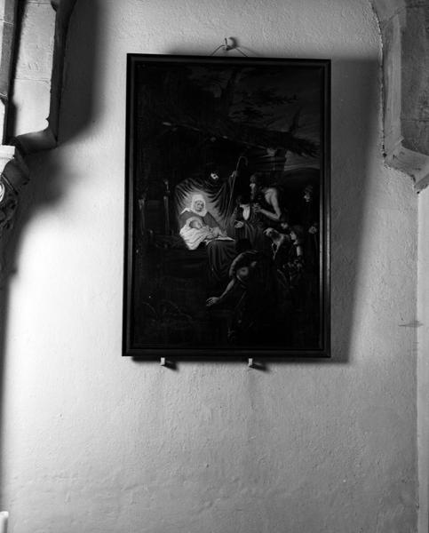 tableaux (2) : Sainte-Famille ; adoration des bergers