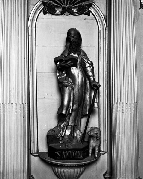 Statue (statuette) : saint Antoine