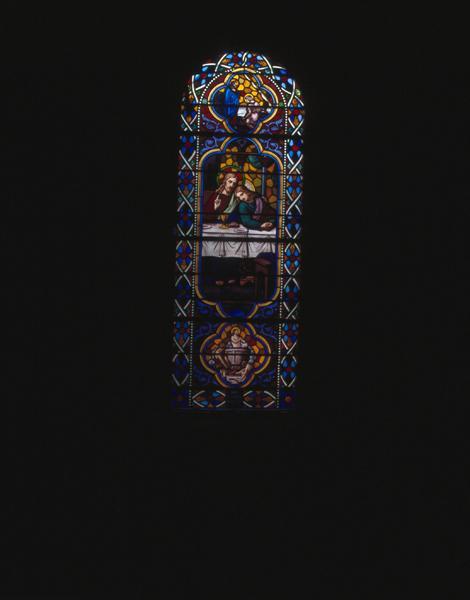 Ensemble des 15 verrières de la nef