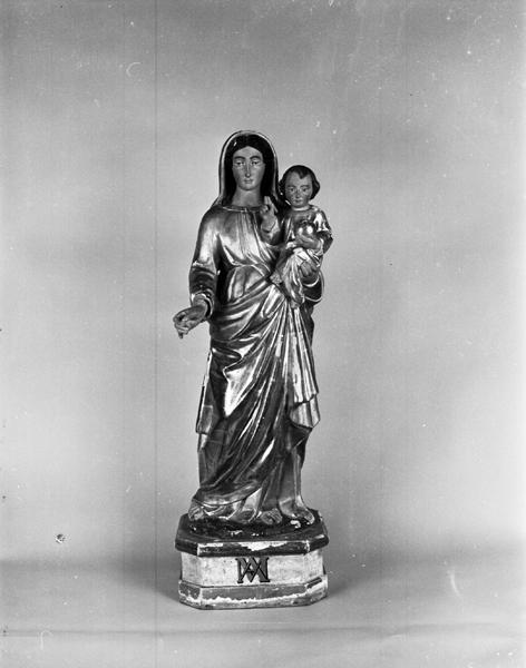 Statuette de la Vierge à l'Enfant