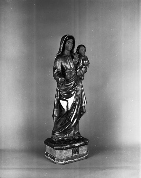 Statue (statuette) de la Vierge à l'Enfant