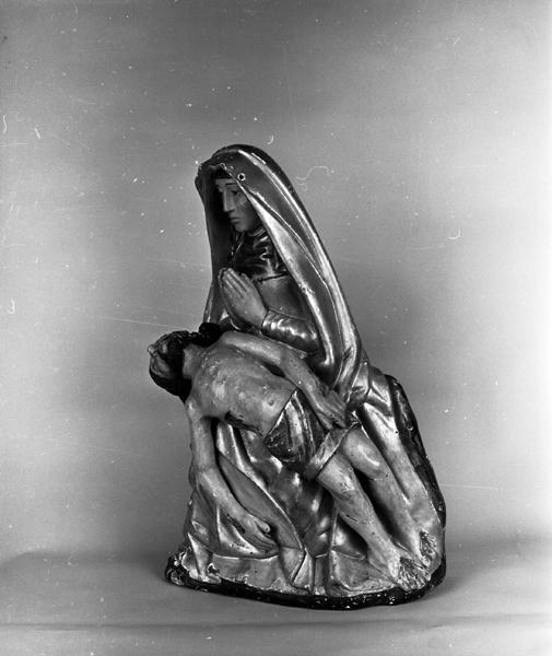 statue (statuette) de la Vierge de Pitié