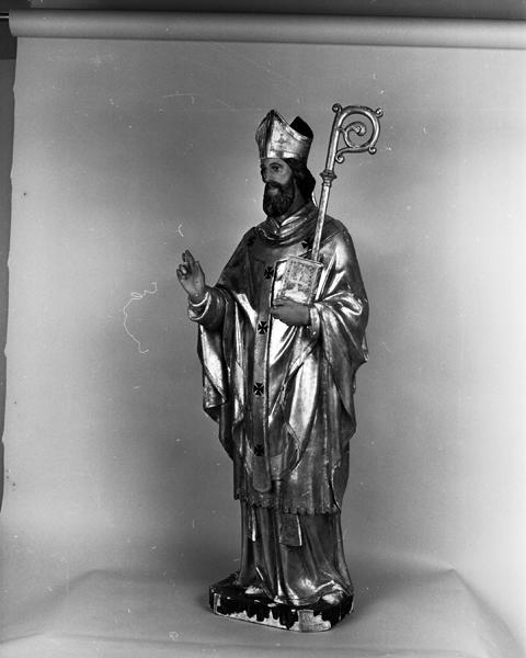 statue (petite nature) de saint Claude