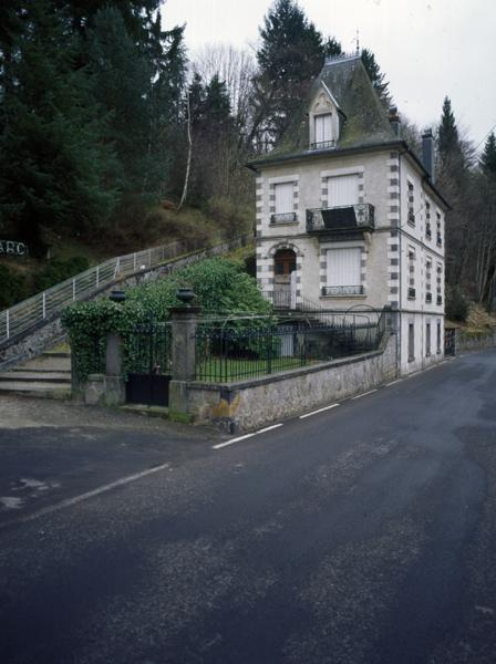 maison, ancienne villa Riberolles