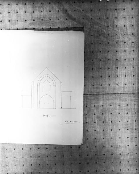 Église paroissiale Saint-Cirgues, Saint-Georges