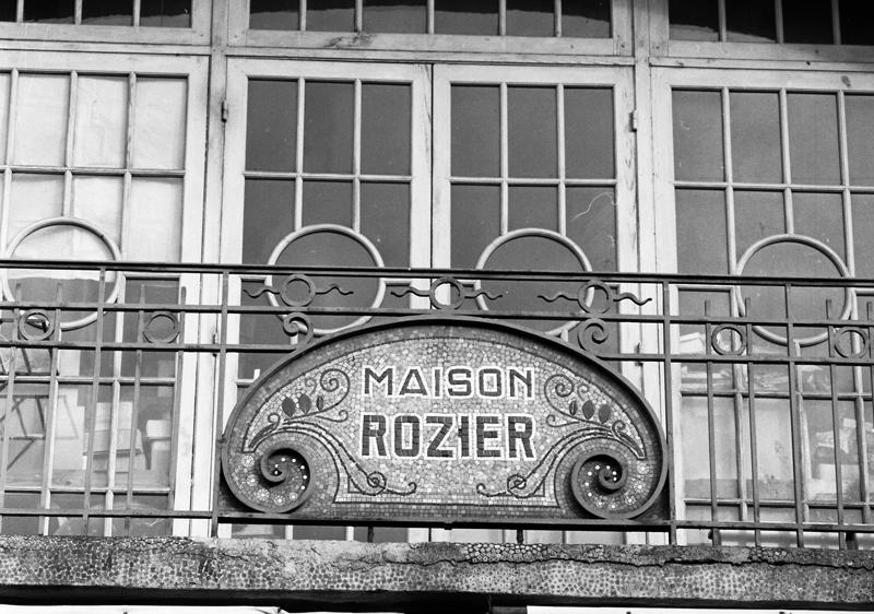 pâtisserie-confiserie Rozier