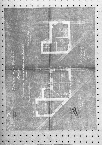 maison de gardien du cimetière; monument sépulcral