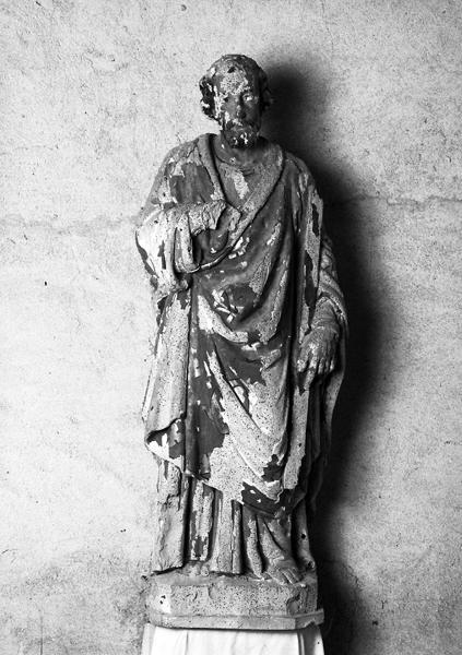 Statue présumée de saint Abdon