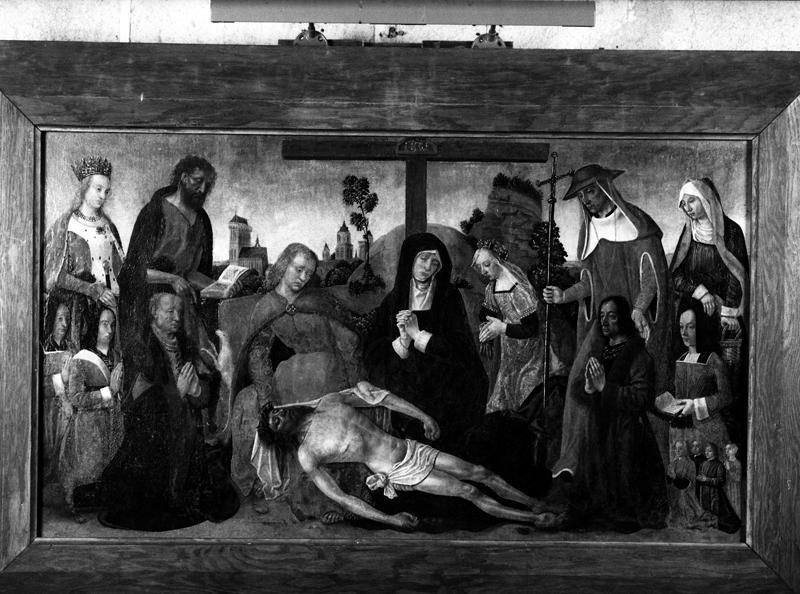 Tableau : Lamentation sur le Christ mort