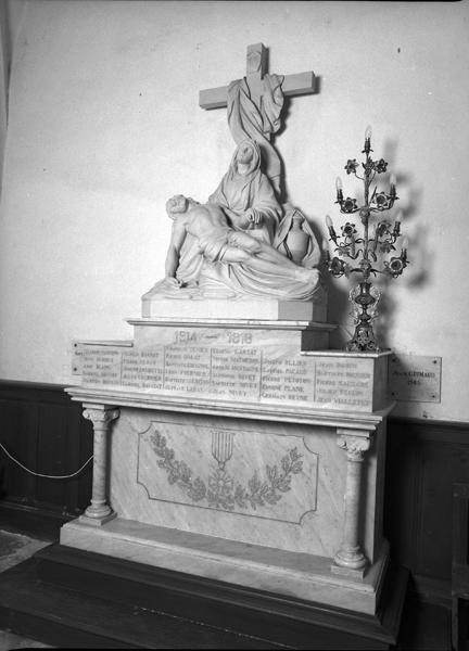 Le mobilier de l'église paroissiale Saint-Clément