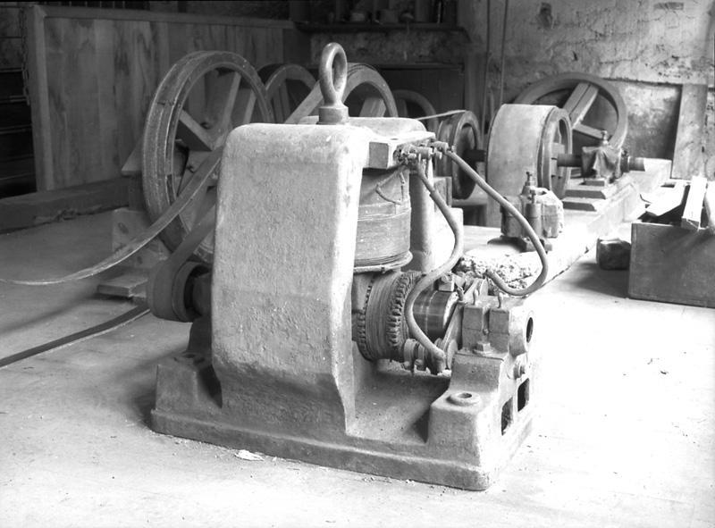 Générateur électrique continu : dynamo Gramme