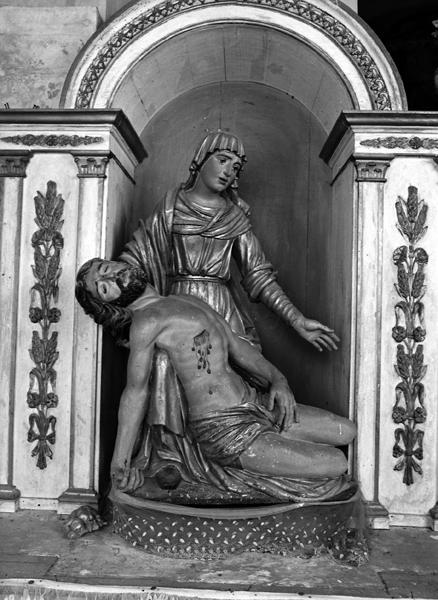 groupe sculpté : Pietà
