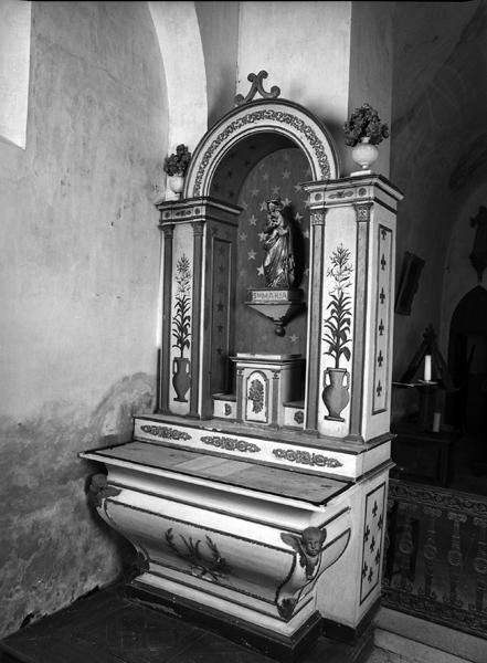 autel, gradin d'autel, tabernacle, retable