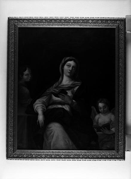 Tableau : La Vierge lisant