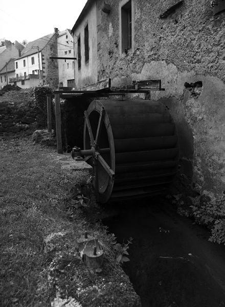 Moulin puis carderie, filature